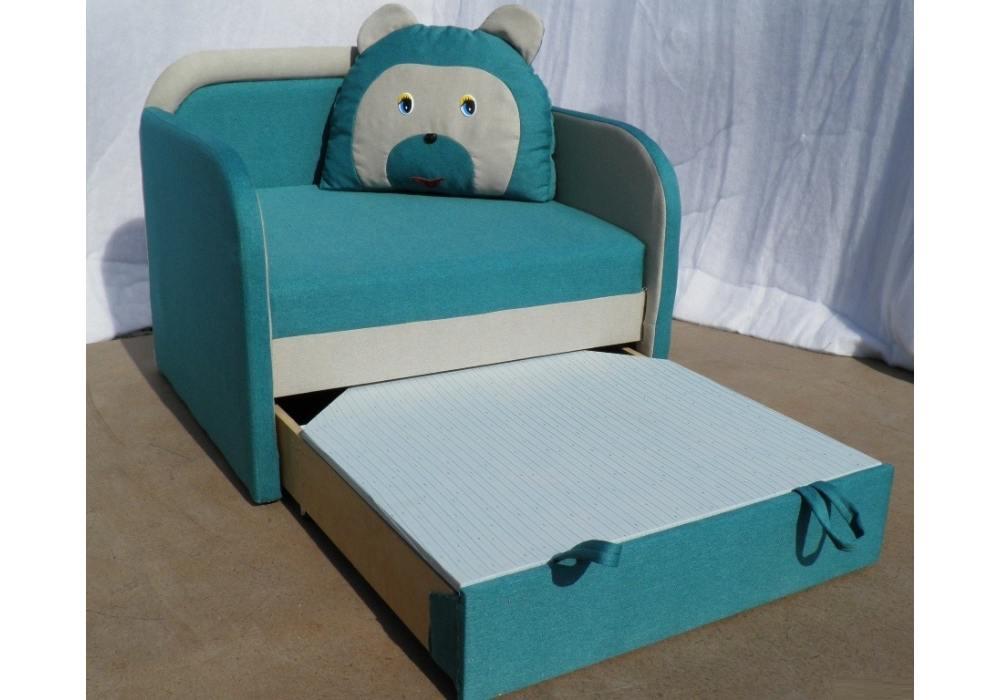 кресло кровать детское мишка с нишей