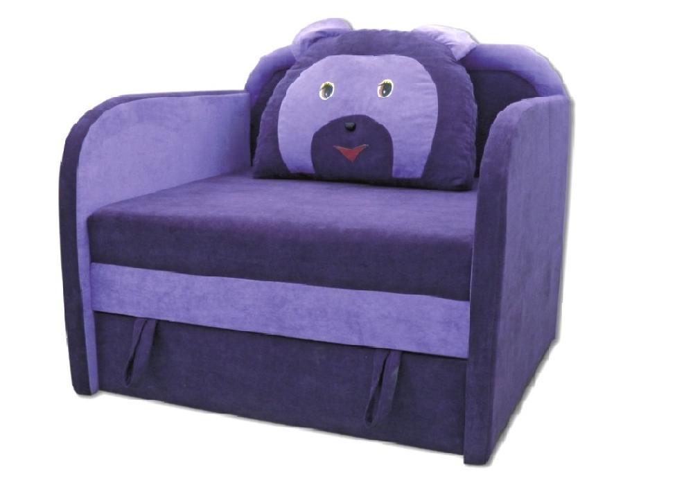 кресло кровать детское мишка