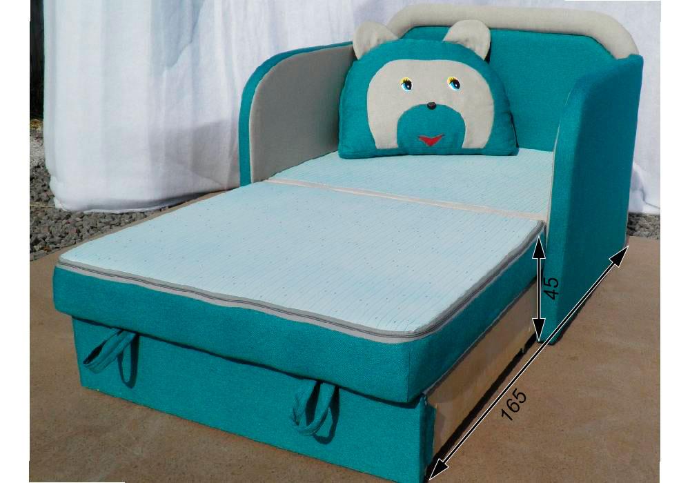 кресло кровать детское мишка схема в разложенном виде