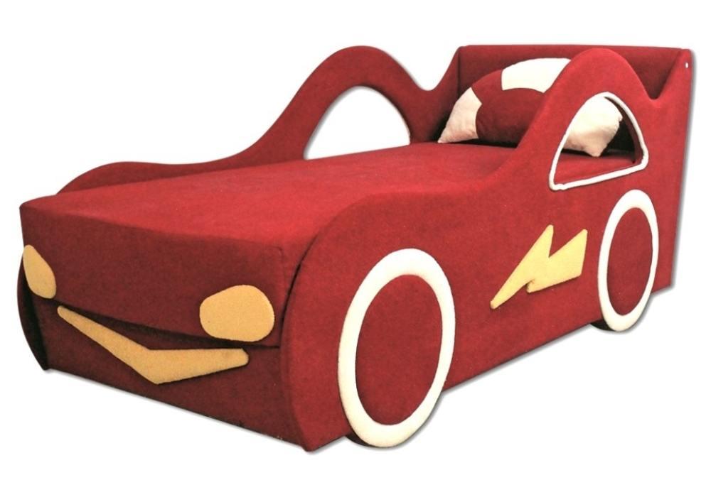 детская кровать диван молния
