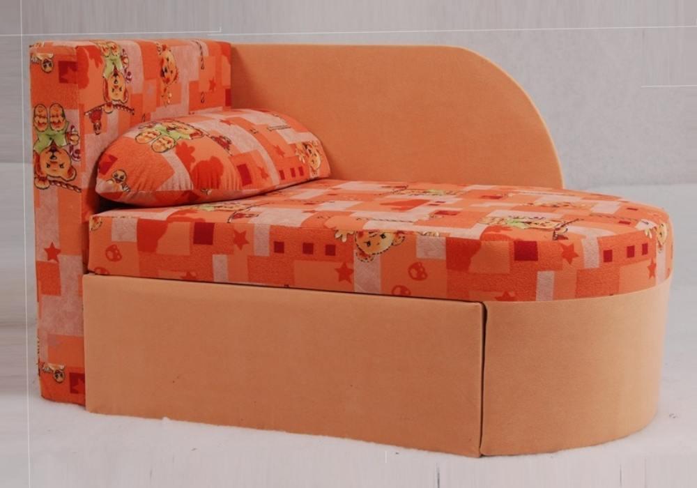 раскладное кресло кровать окей оранжевое