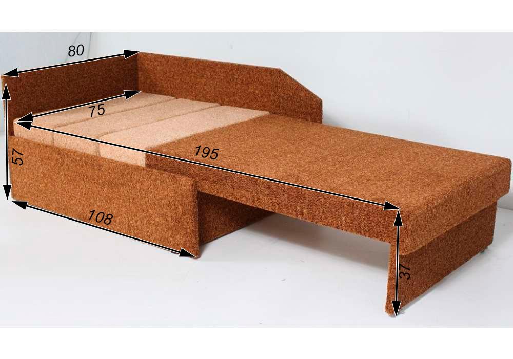 раскладное кресло кровать петрик схема