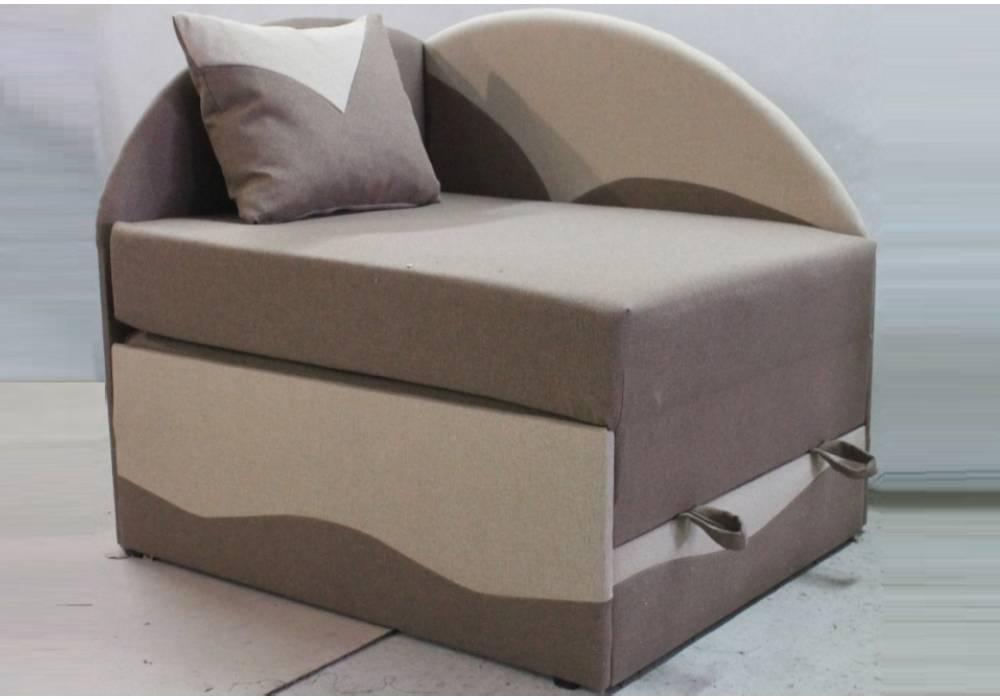 детское раскладное кресло кровать петрусь бежевое