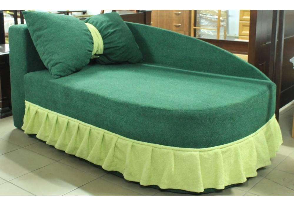детский диван кровать золушка зеленый