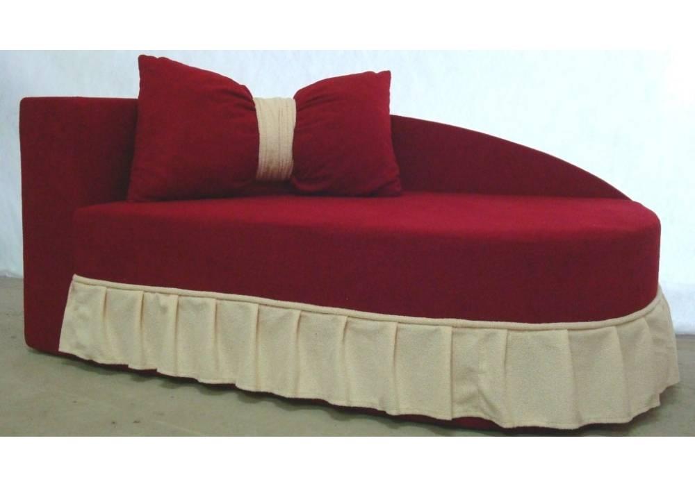 детский диван кровать золушка красный