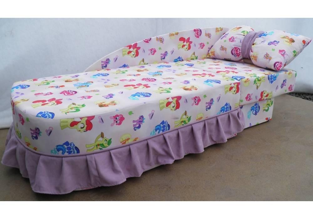 детский диван кровать золушка в разложенном виде