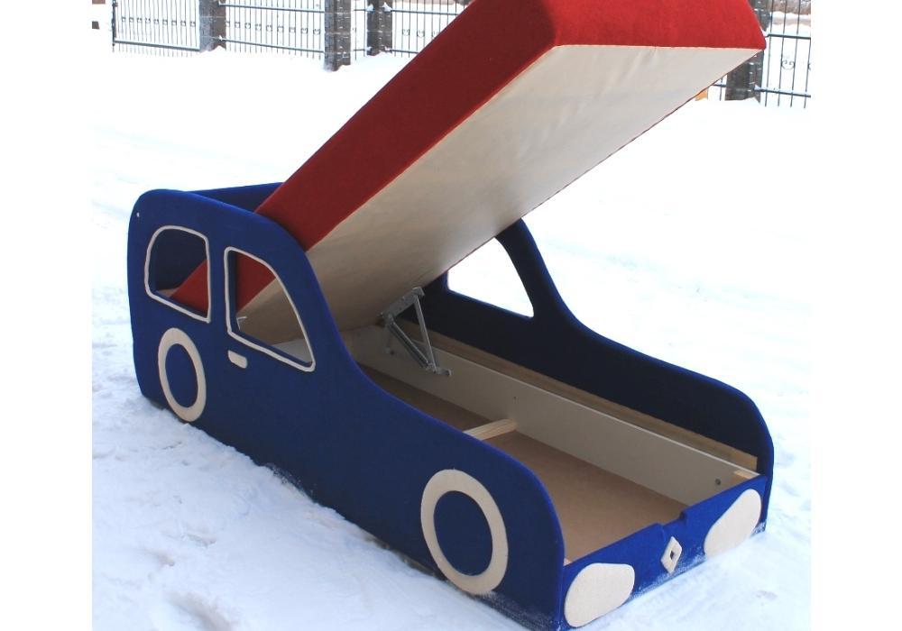 детская кровать машина рено с механизмом