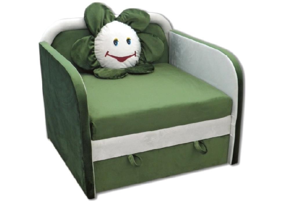 детское кресло кровать ромашка