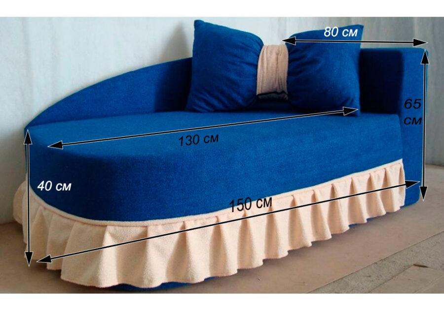 детский диван кровать золушка схема
