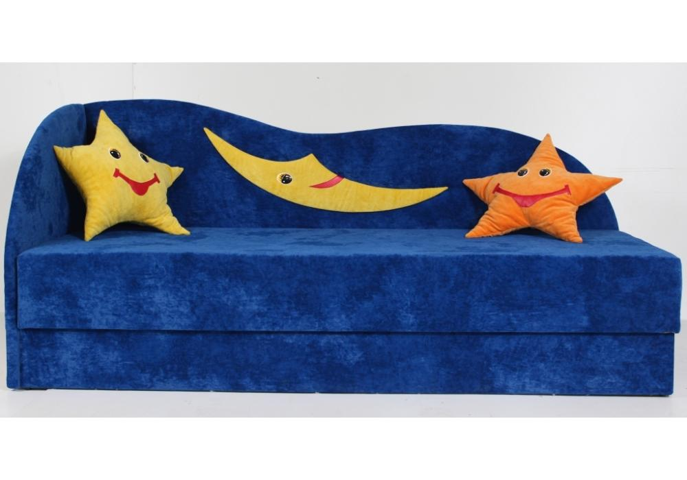 детский диван кровать сплюх синий