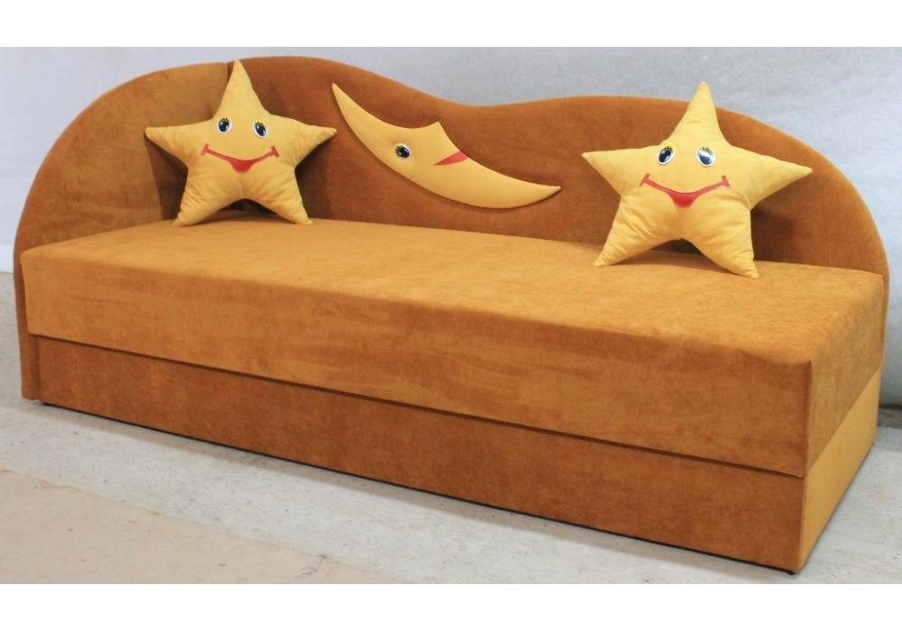 детский диван кровать сплюх коричневый