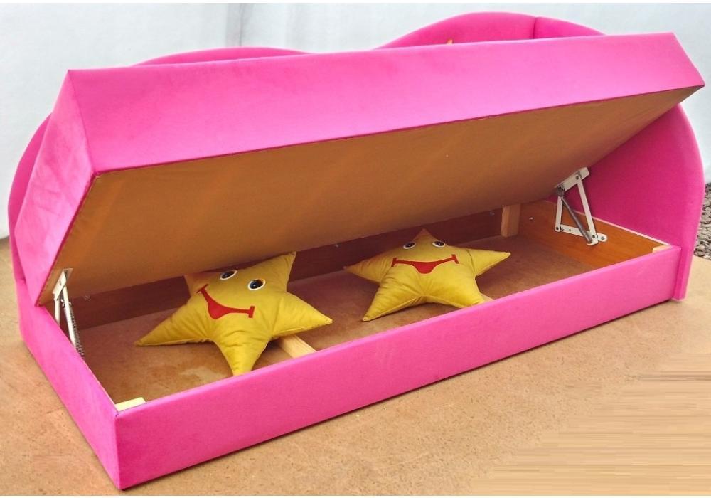 детский диван кровать сплюх с нишей