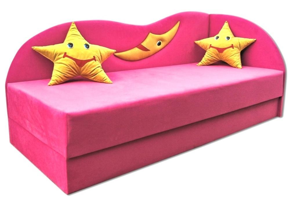 детский диван кровать сплюх розовый