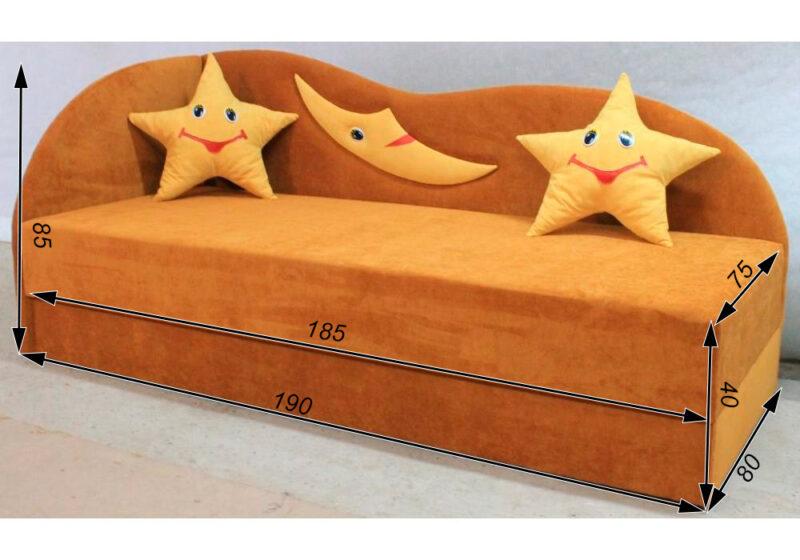 детский диван кровать сплюх схема