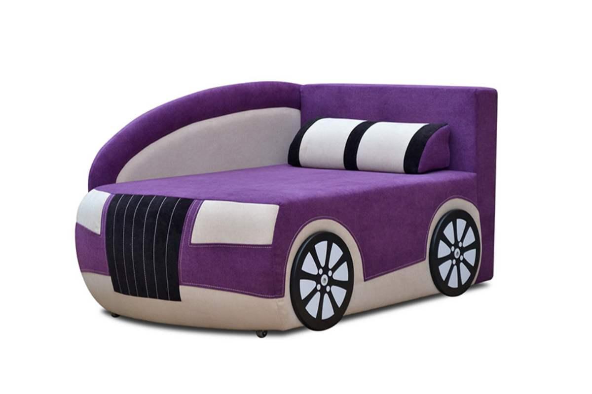 детский кровать диван ауди фиолетовый