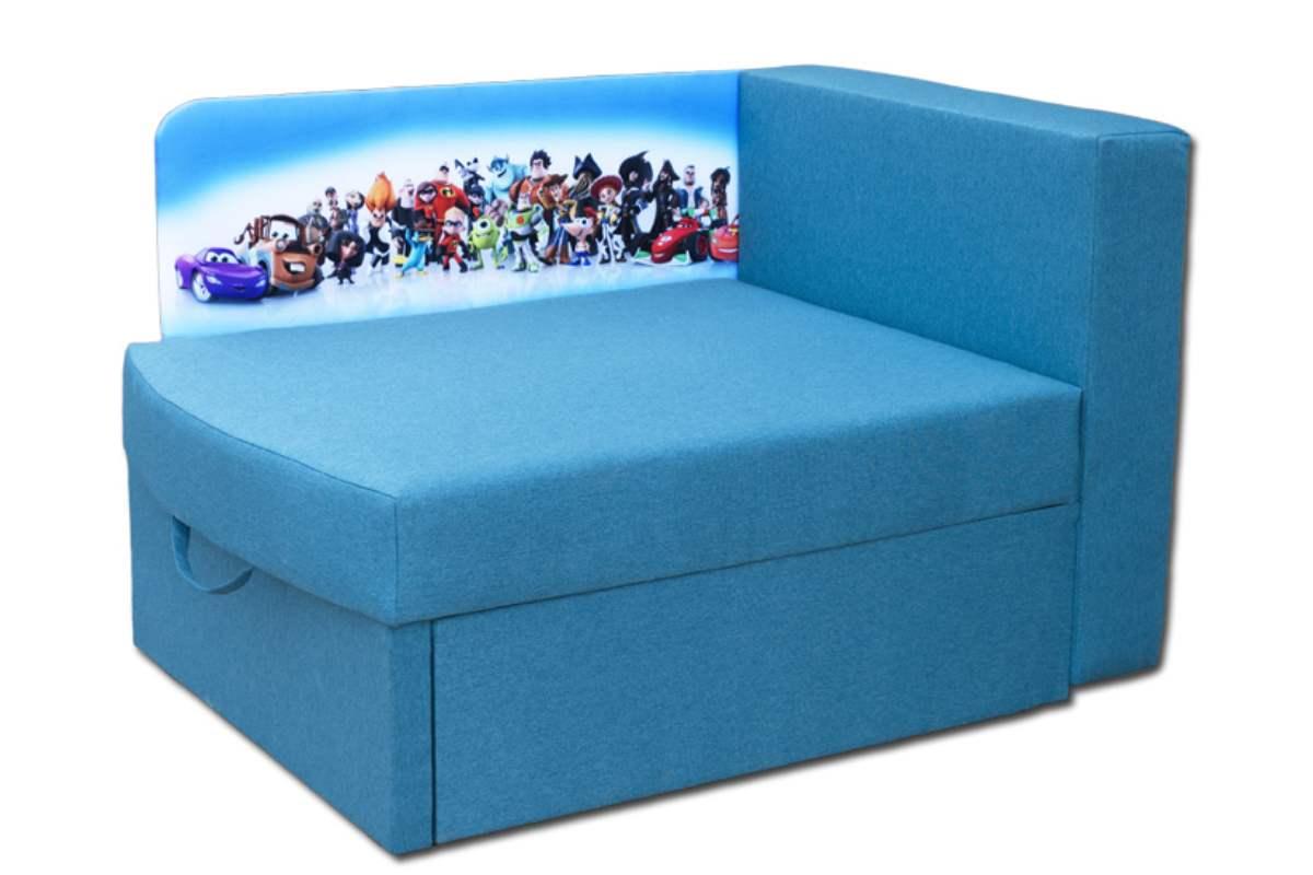 кровать диван бемби голубой