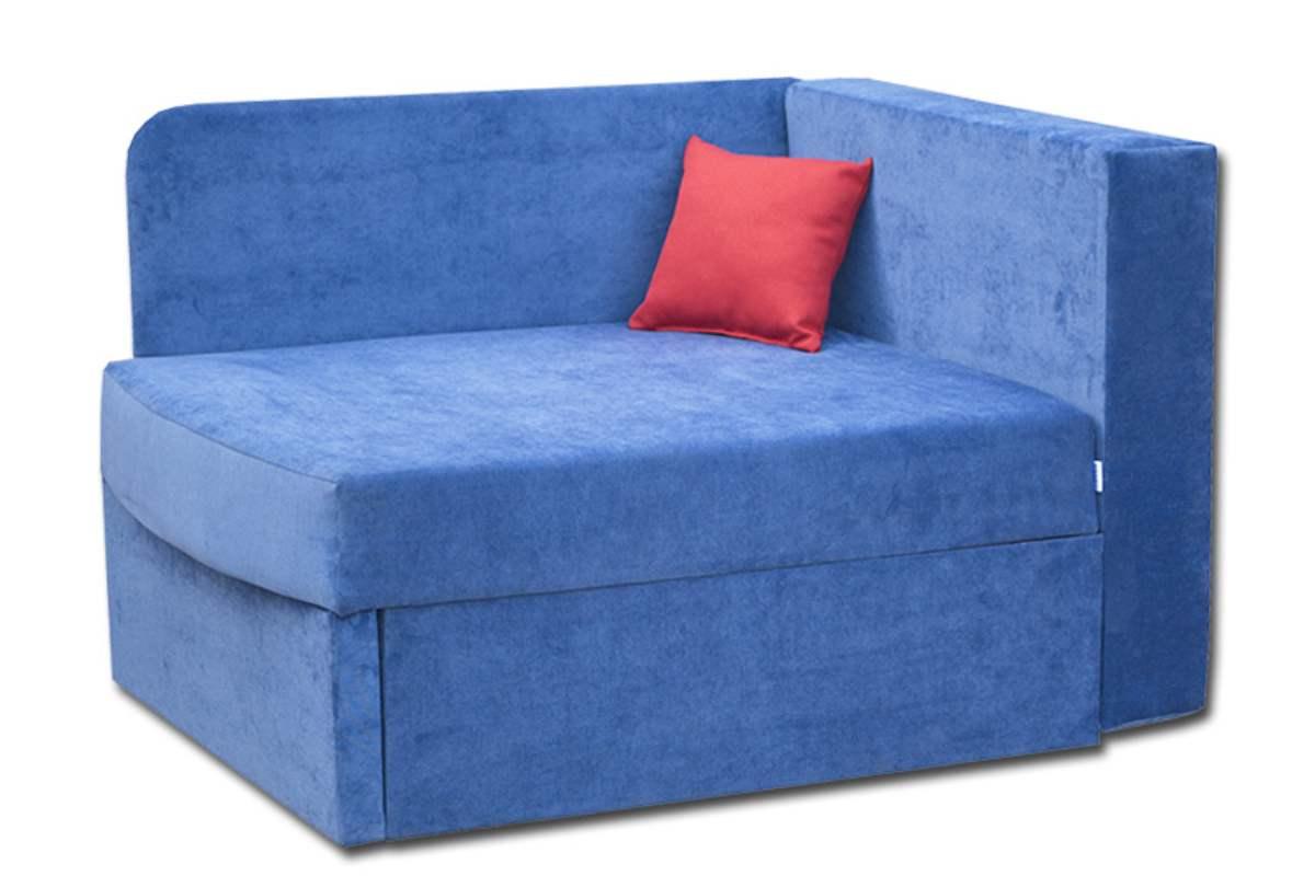 кровать диван бемби синий