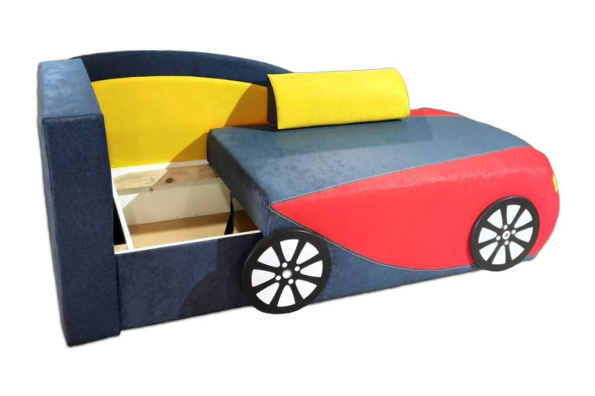 детский кровать диван бугатти с нишей