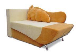 детское кресло кровать эльф оранж