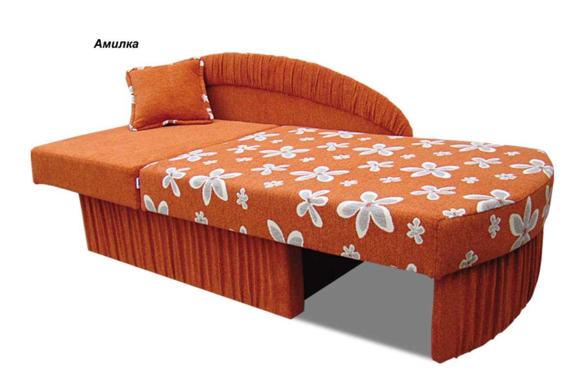 детское кресло кровать колибри оранжевый