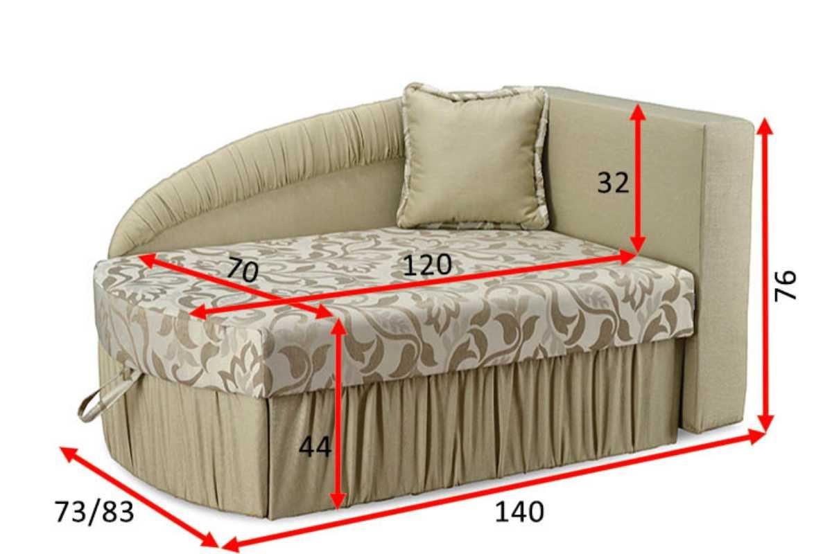 детское кресло кровать магик габариты