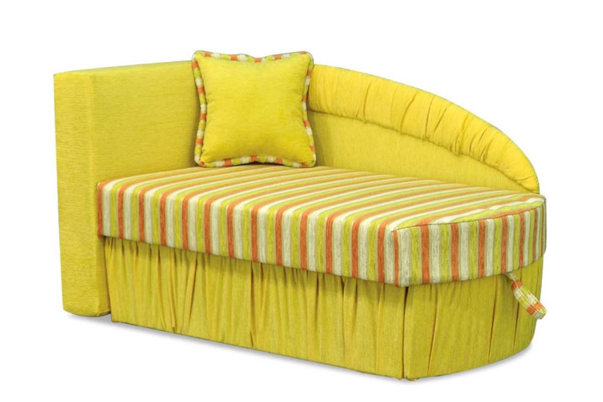 детское кресло кровать колибри желтый
