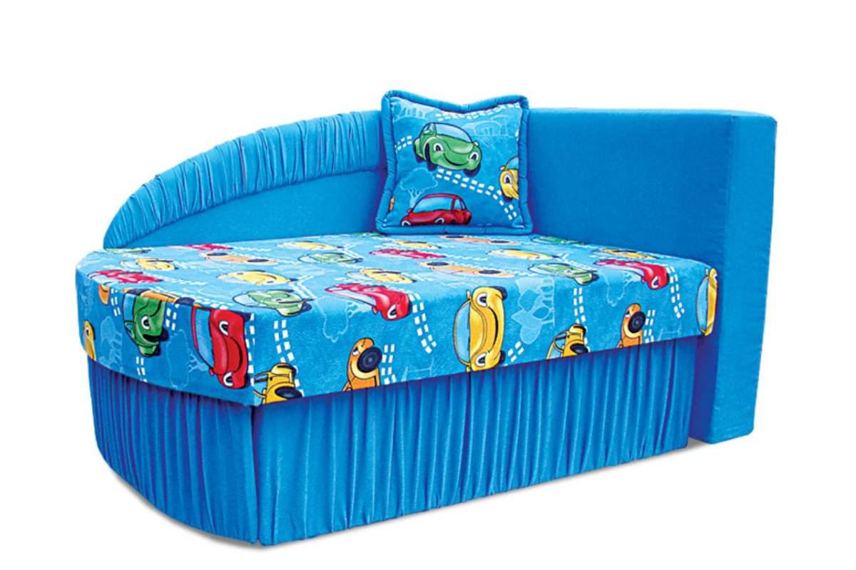 детское кресло кровать колибри голубой
