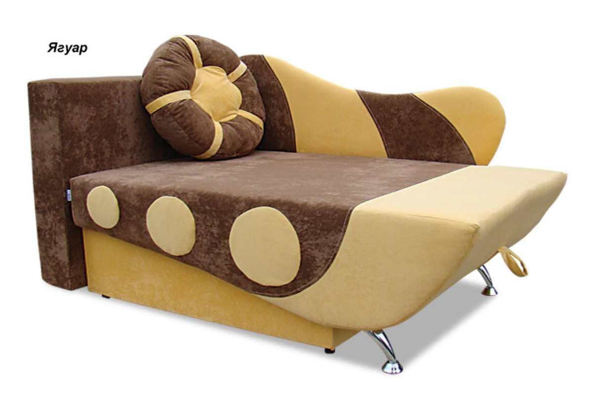 детское кресло кровать эльф коричневый