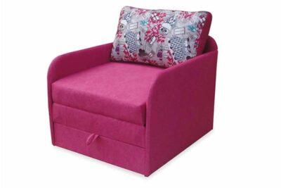дитяче ліжко диван лакі рожевий