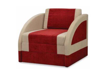 дитяче крісло ліжко магік червоний