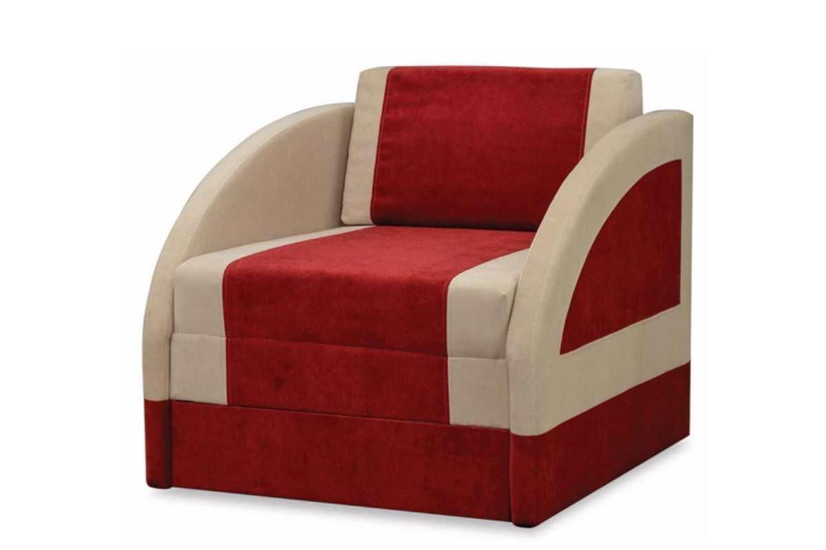 детское кресло кровать магик красный