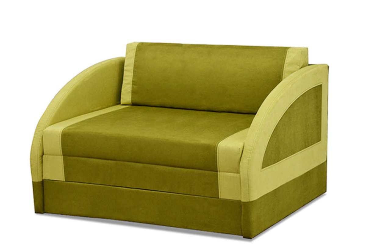 кресло кровать магик широкий зеленый
