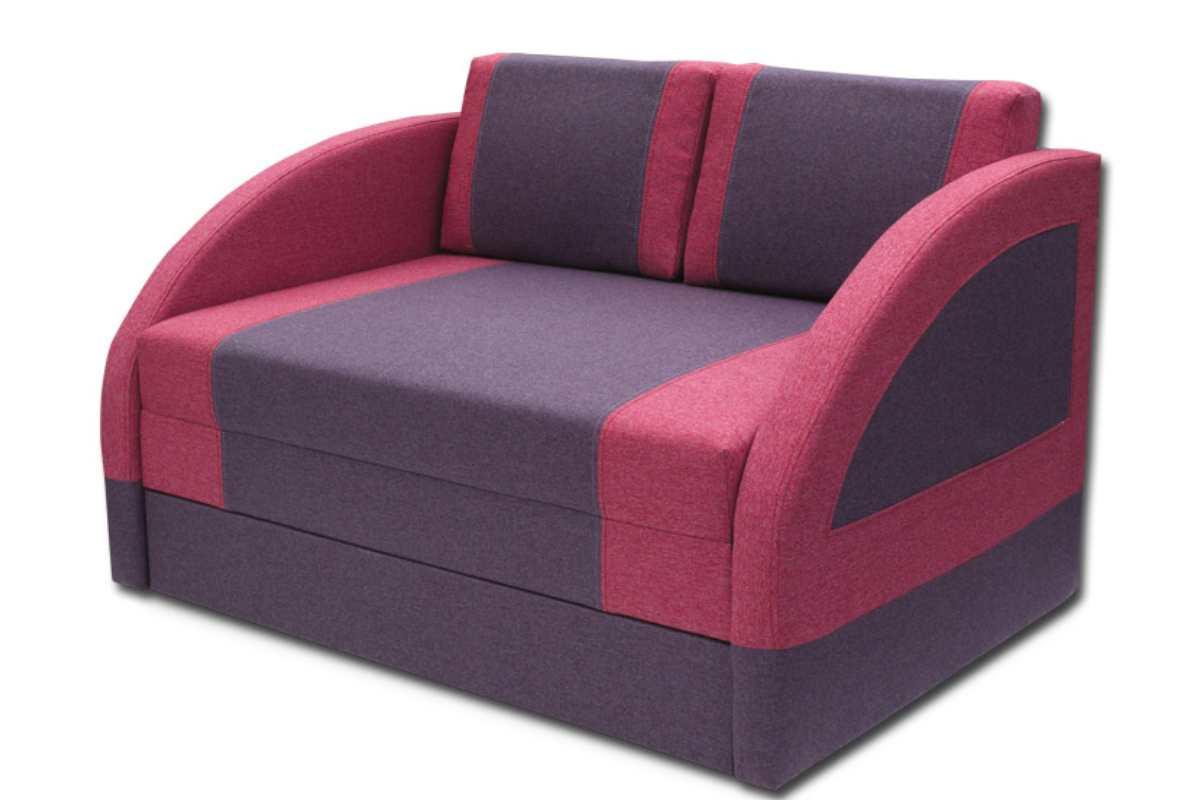 кресло кровать магик широкий малиновый и фиолетовый