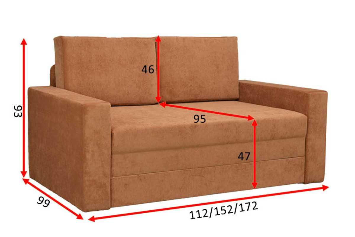 диван кровать раскладной марс схема