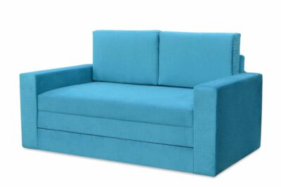 диван ліжко розкладне марс блакитний