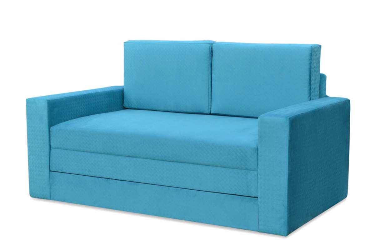 диван кровать раскладной марс голубой