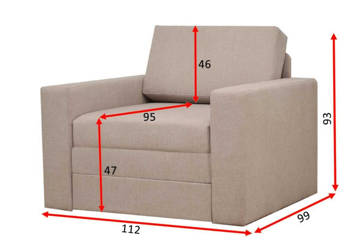 кресло кровать марс схема