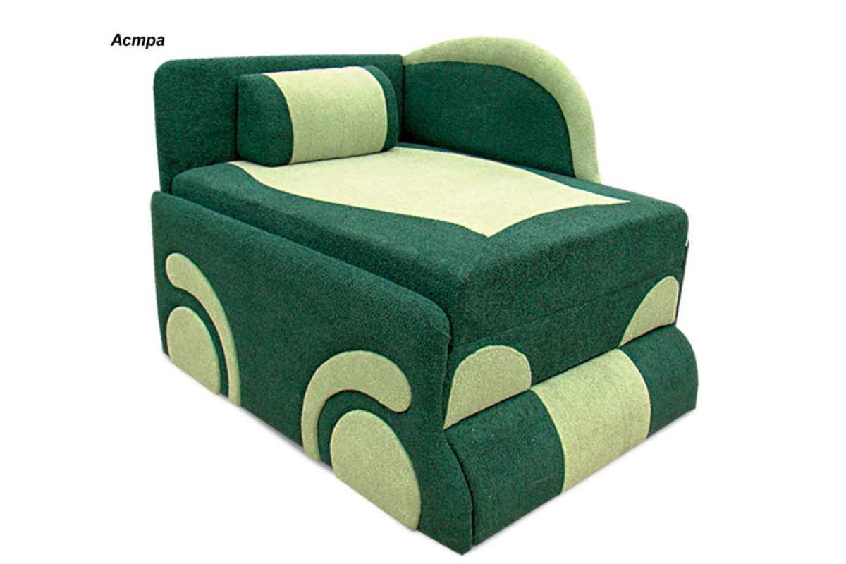 детское кресло кровать диван машинка зеленое