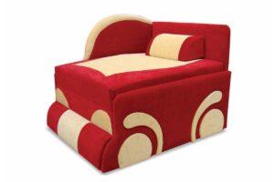 детское кресло кровать диван машинка красное