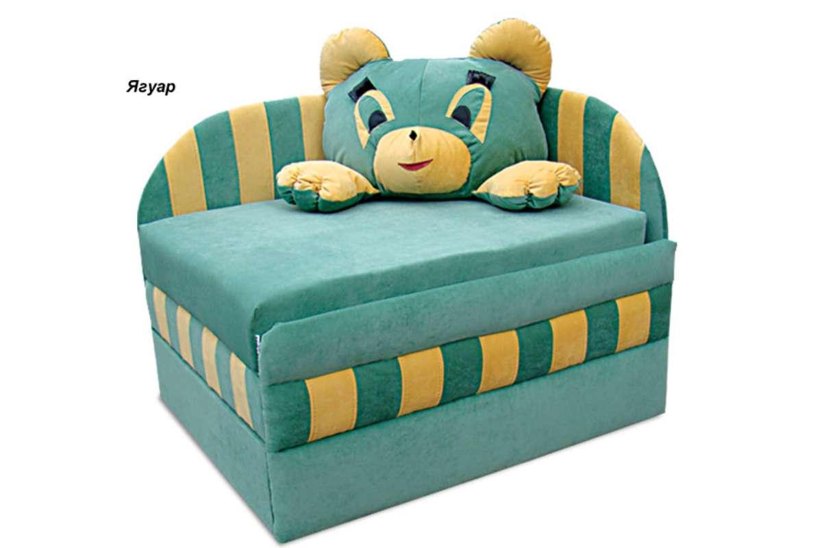 детское кресло кровать панда