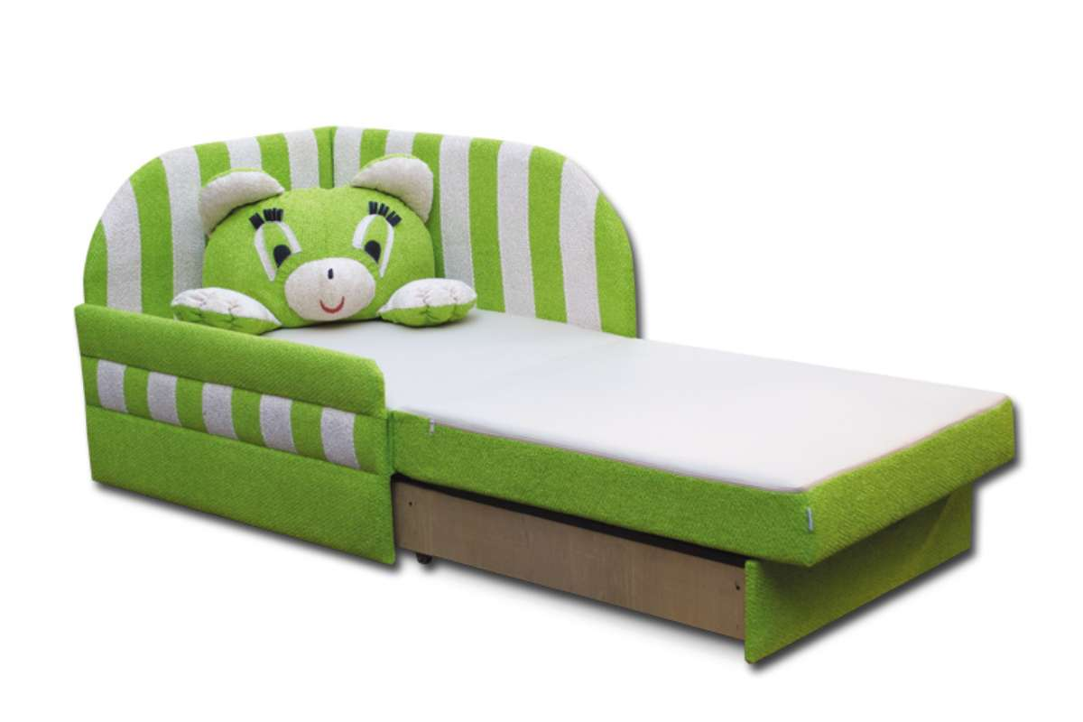 детское кресло кровать панда раскладное