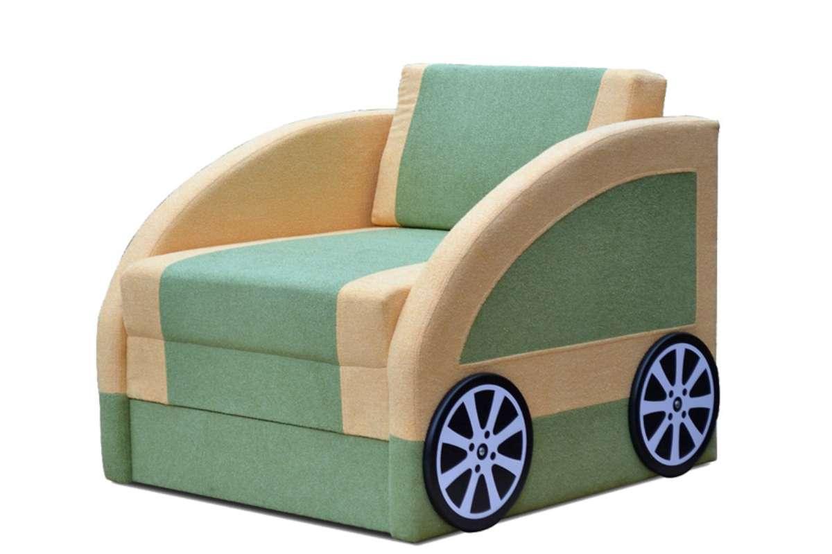 детский диван машинка смарт с колесами