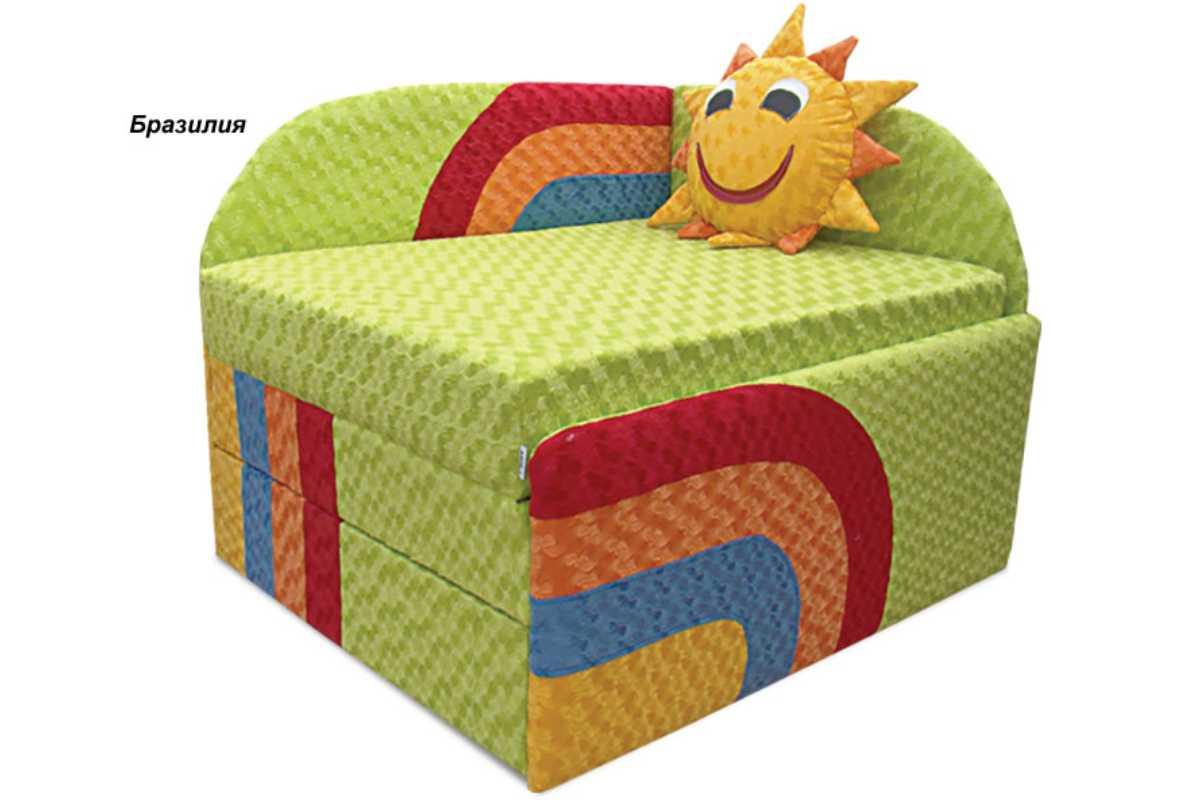 детское кресло кровать сонечко ткань бразилия