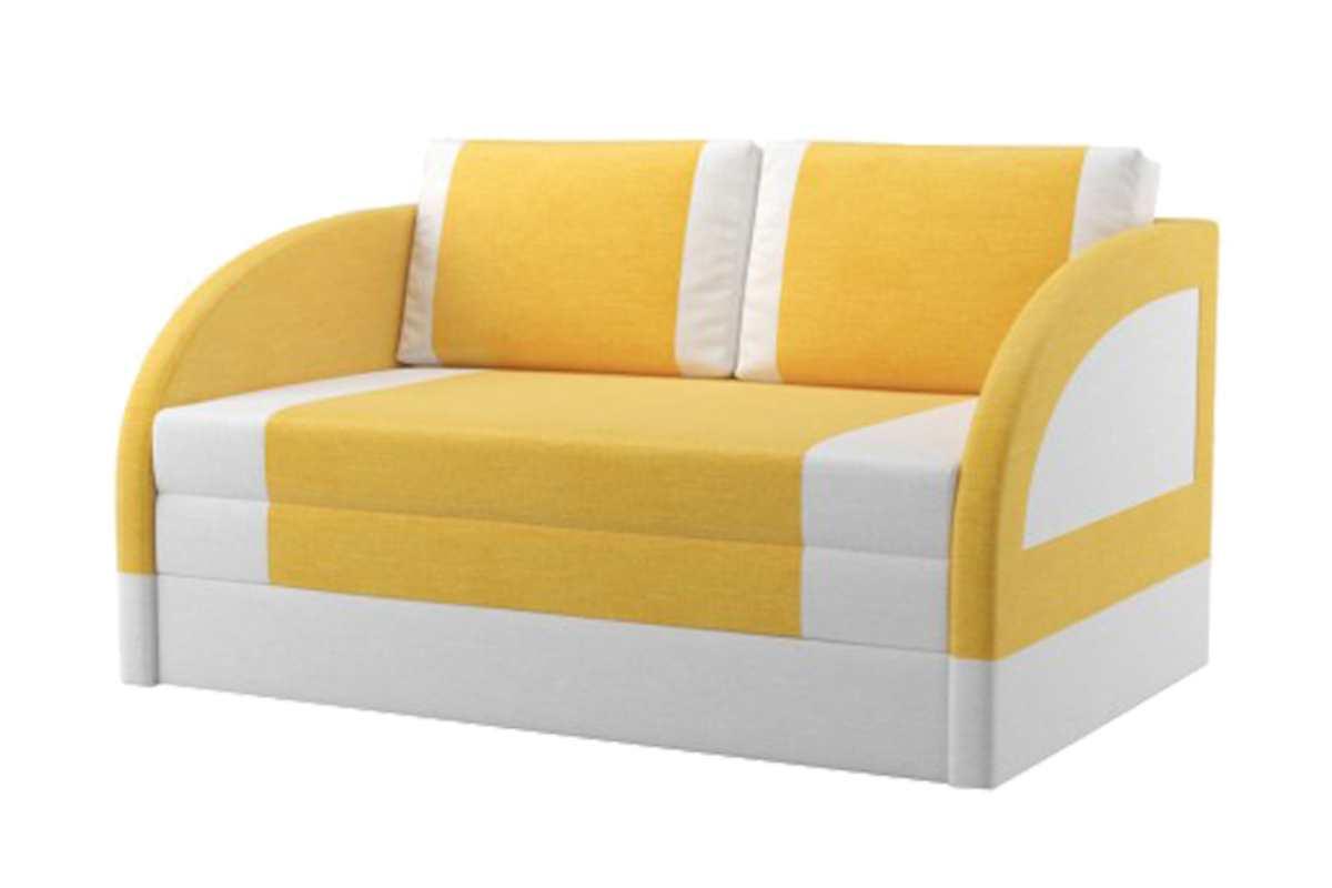 кресло кровать магик широкий желтый