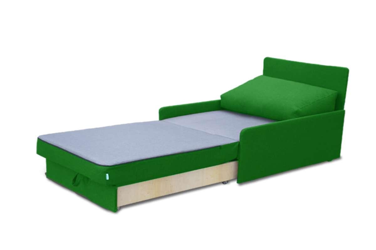 детский кровать диван рондо зеленый