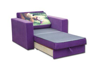 крісло ліжко роскладне марс маша и медведь
