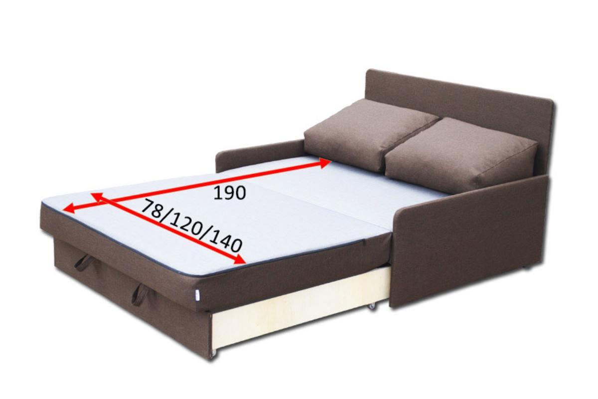 детский кровать диван рондо широкий схема в разложенном виде