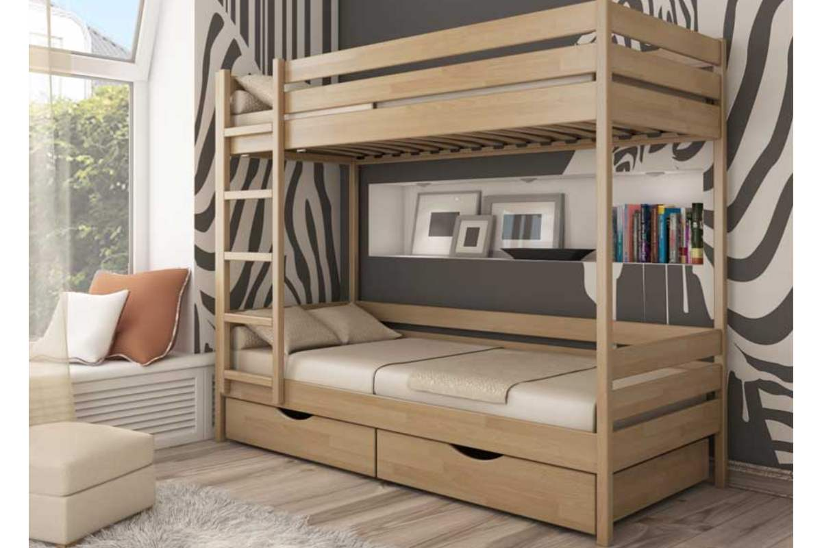 двухэтажная кровать дуэт цвет 102