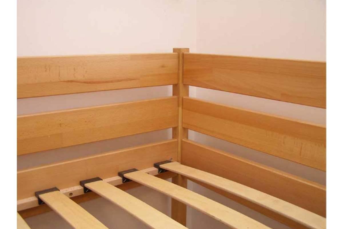 двухэтажная кровать дуэт ламели