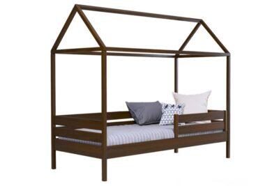 кровать домик амми из бука цвет 101 без ящиков